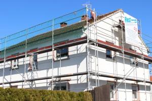 Reparaturarbeiten am Dach - Dachsanierung