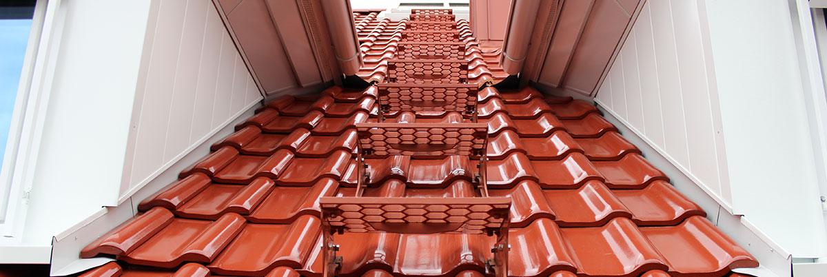 Dachdeckerarbeiten-Tonziegel