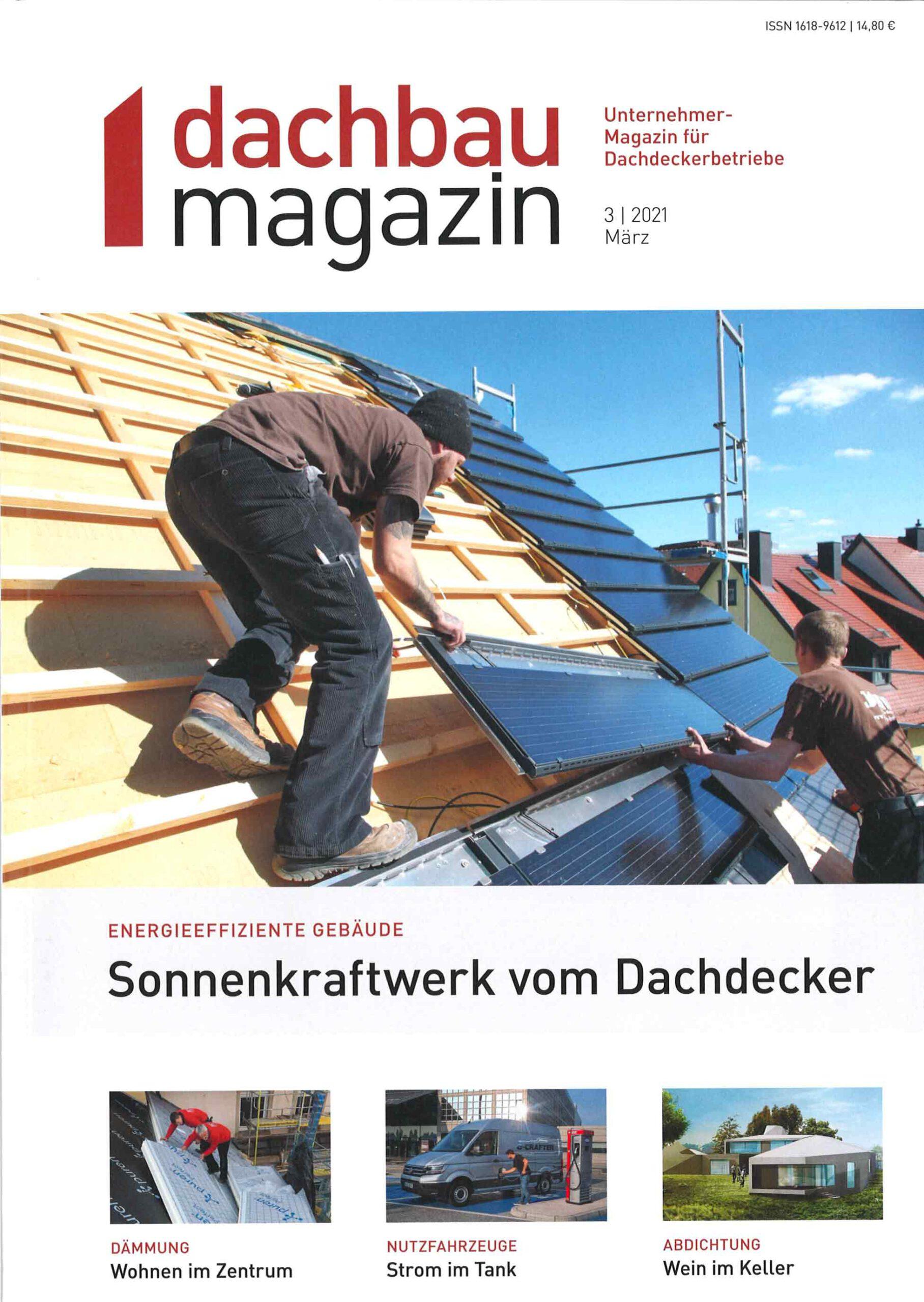 Dach Magazin - Ausgabe 3/2121
